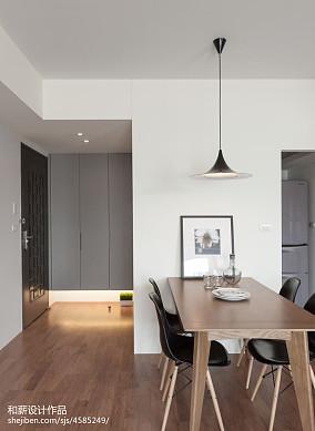 2018面积71平混搭二居餐厅装修效果图片二居潮流混搭家装装修案例效果图