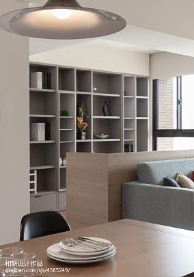 89平方二居客厅混搭装修实景图片欣赏二居潮流混搭家装装修案例效果图