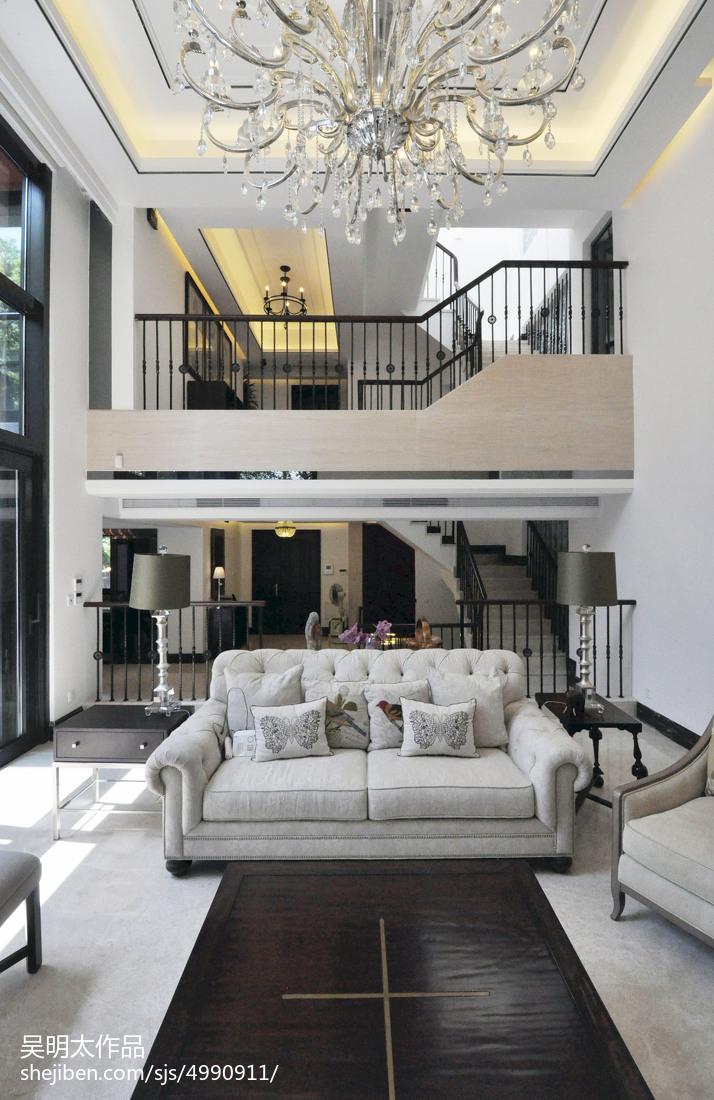 现代风格别墅客厅装修设计客厅沙发现代简约客厅设计图片赏析