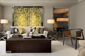 热门面积83平新古典二居客厅装修设计效果图片欣赏