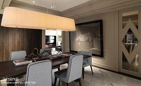 二居餐厅新古典装修图片欣赏