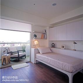 热门109平方三居卧室混搭实景图片大全