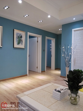 2018精选96平米三居客厅地中海装修实景图片欣赏