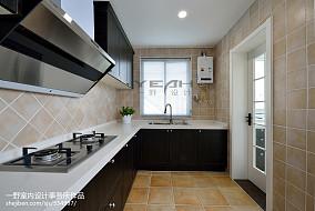 热门复式厨房美式欣赏图