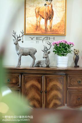 精美138平米美式复式客厅装修图