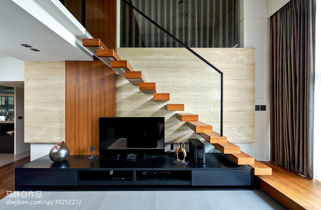 loft混搭楼梯设计潮流混搭设计图片赏析