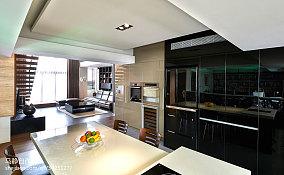 热门面积79平混搭二居餐厅装修设计效果图