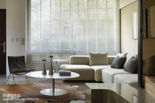 精美111平米四居客厅现代装饰图片欣赏客厅沙发60m²以下现代简约家装装修案例效果图