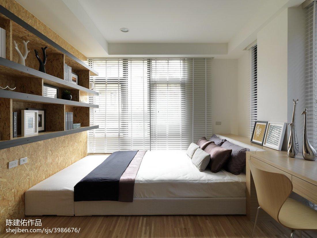 现代风格卧室榻榻米装修图片欣赏