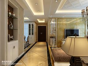 美式室内楼梯设计风格图