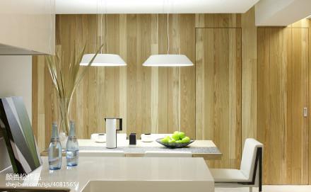 精选面积87平现代二居餐厅装修实景图片