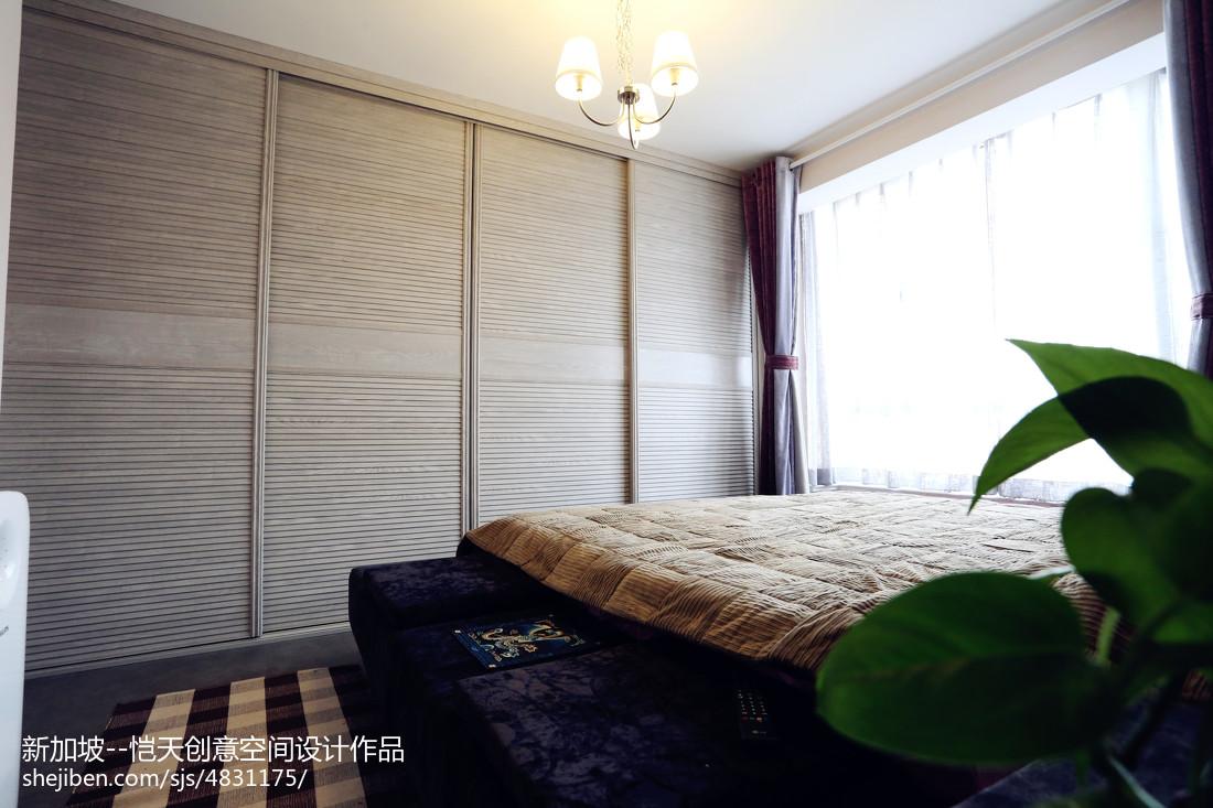 小户型现代卧室衣柜装修设计图片卧室现代简约卧室设计图片赏析