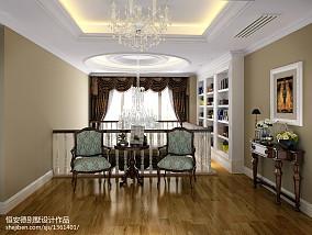 水晶吊灯高清图片151-200m²别墅豪宅欧式豪华家装装修案例效果图