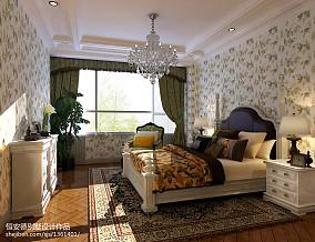 精美112平米欧式别墅卧室装修实景图片大全