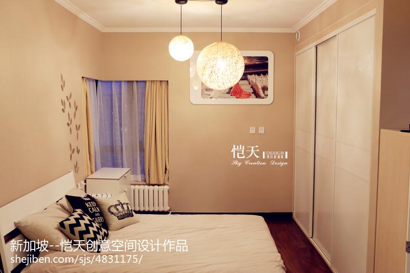 现代风格卧室飘窗图片卧室现代简约卧室设计图片赏析