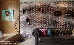 精美73平混搭二居实景图60m²以下二居潮流混搭家装装修案例效果图