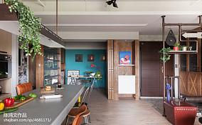 热门混搭三居餐厅效果图片欣赏