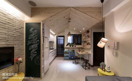 精选面积80平混搭二居厨房实景图片欣赏