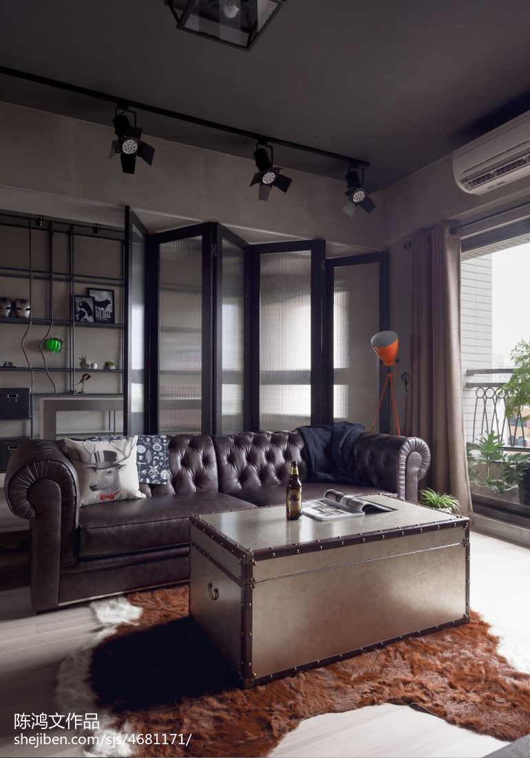 精选面积76平混搭二居客厅实景图片欣赏客厅2图