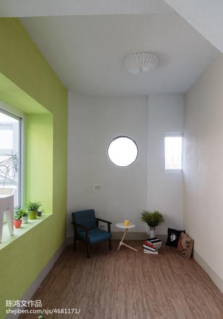 精选113平米混搭别墅阳台设计效果图阳台