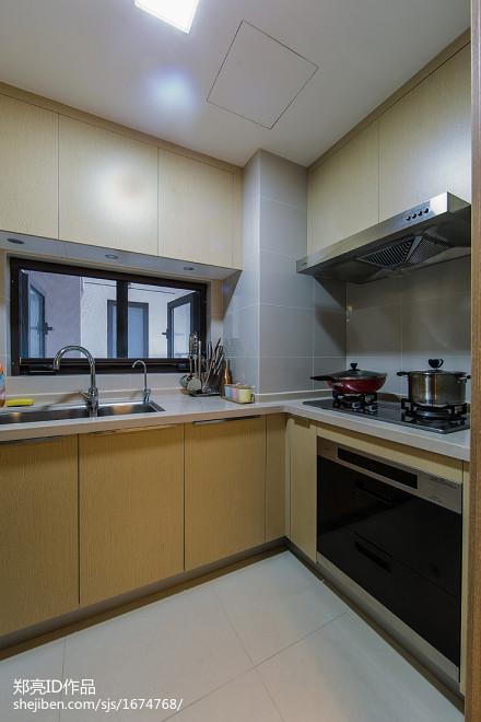 质朴32平现代小户型厨房装修效果图
