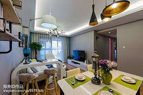 悠雅29平现代小户型客厅图片欣赏