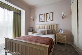 2018面积105平混搭三居卧室装修欣赏图