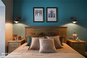 优美103平混搭三居卧室装修设计图