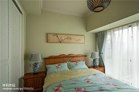 热门面积122平复式卧室混搭装饰图