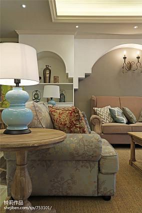 精美138平米四居客厅美式效果图片欣赏