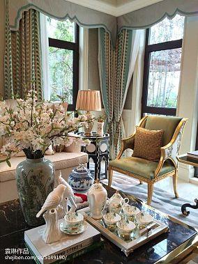 简中式儒雅家装客厅设计