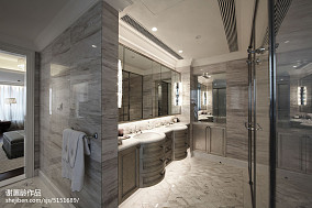 2018精选欧式卫生间装修设计效果图片卫生间欧式豪华设计图片赏析