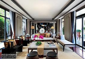 2018精选大小142平别墅客厅中式装修图片欣赏别墅豪宅中式现代家装装修案例效果图