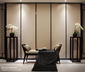 精美114平米中式别墅客厅装饰图片别墅豪宅中式现代家装装修案例效果图