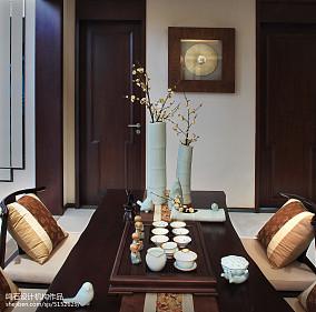 精致222平中式别墅客厅装修图片别墅豪宅中式现代家装装修案例效果图