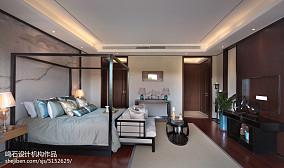 中式风格卧室装修效果图片欣赏别墅豪宅中式现代家装装修案例效果图