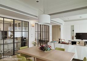 热门97平米三居餐厅美式设计效果图