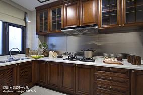 中式风格厨房精装修效果图