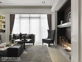 2018精选欧式客厅效果图片欣赏样板间欧式豪华家装装修案例效果图