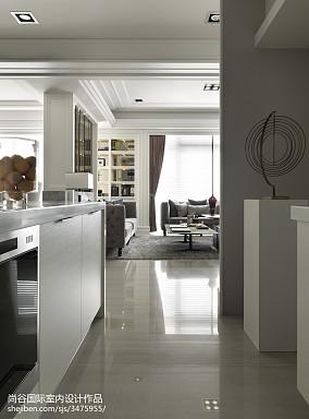平欧式样板间厨房装修案例样板间欧式豪华家装装修案例效果图