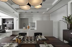 轻奢346平欧式样板间餐厅装饰美图样板间欧式豪华家装装修案例效果图