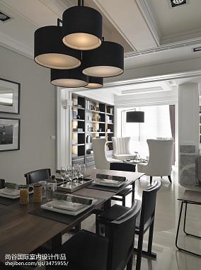 热门欧式餐厅装修设计效果图片欣赏样板间欧式豪华家装装修案例效果图