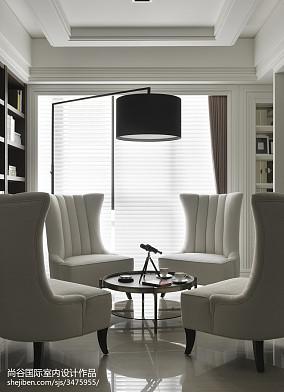 精选欧式书房装修欣赏图片大全样板间欧式豪华家装装修案例效果图