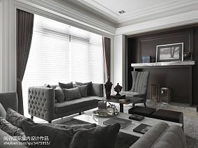 2018精选欧式客厅装修欣赏图样板间欧式豪华家装装修案例效果图