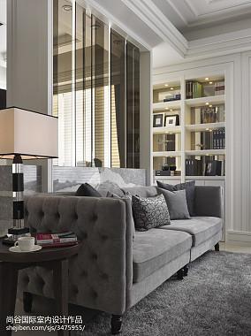 热门客厅欧式效果图片样板间欧式豪华家装装修案例效果图