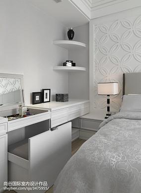 热门卧室欧式实景图片欣赏样板间欧式豪华家装装修案例效果图
