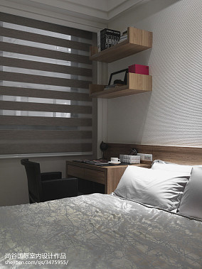 轻奢327平欧式样板间卧室设计案例样板间欧式豪华家装装修案例效果图