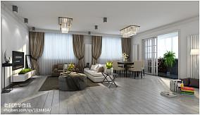 现代室内圆形吊顶设计图片