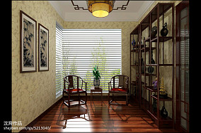 精选中式四居休闲区装修设计效果图片欣赏