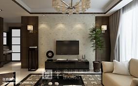 精美面积87平中式二居客厅装修图